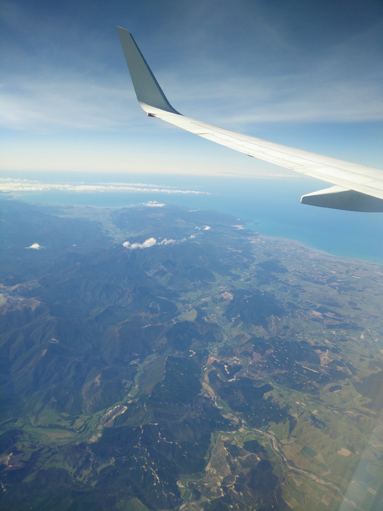 new zealand travel nouvelle zelande middle earth terre du milieu from sky plane abel tasman