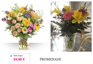 bebloom bouquet arnaque qualite photo reelle avis interflora