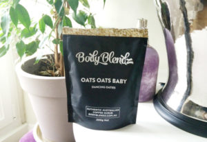 gommage scrub body blendz oats oats baby review test avis