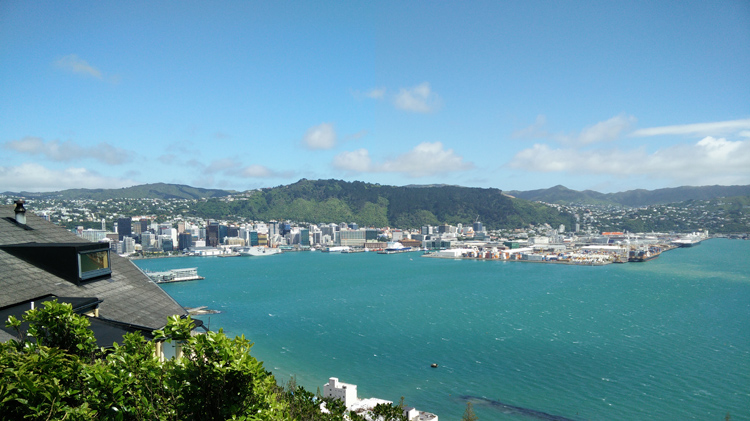 new zealand travel nouvelle zelande middle earth terre du milieu wellington bay