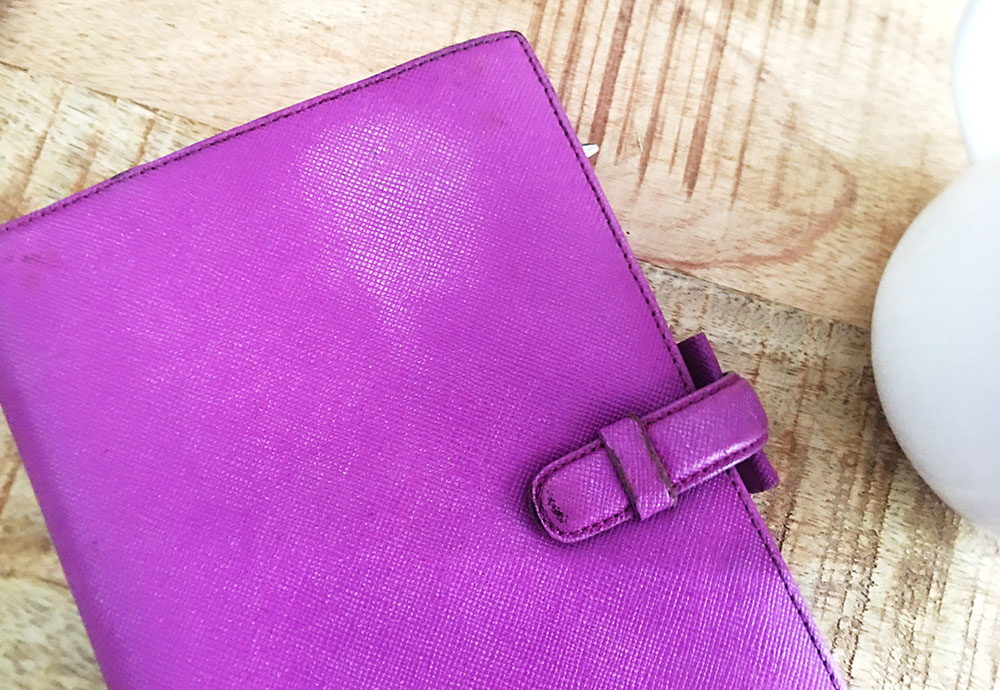 filofax portobello violet