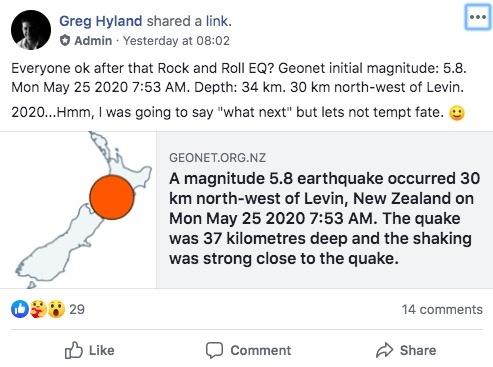 tremblement de terre seisme nouvelle zelande