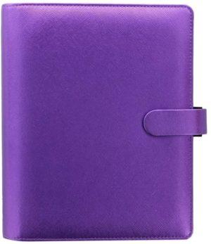 Filofax A5 saffiano violet