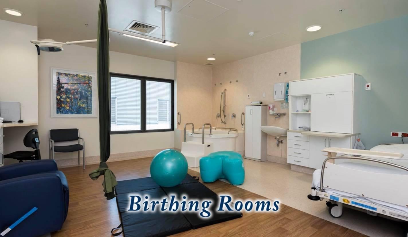 salle accouchement naturel physiologique wellington